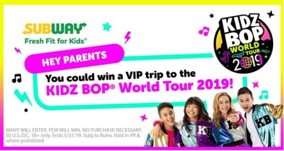 Subway-KIDZ-BOP-Chance-to-Dance-Sweepstakes