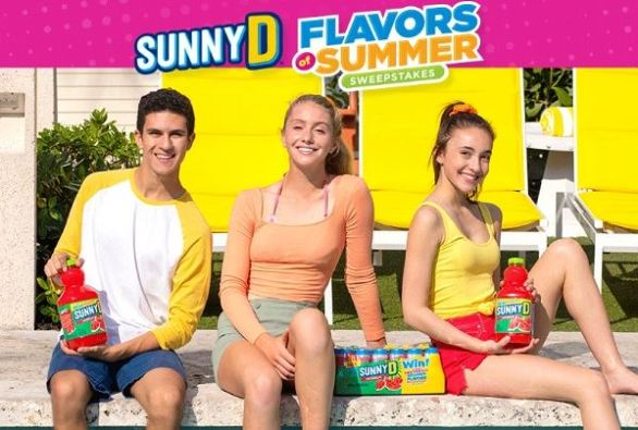 SunnyD-Flavors-of-Summer-Sweepstakes