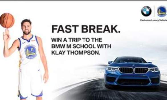 BMW-M-School-with-Klay-Thompson-Sweepstakes