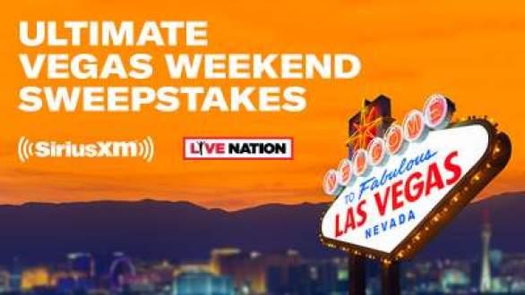 SiriusXM-Ultimate-Vegas-Weekend-Sweepstakes