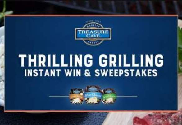 TreasureCaveGrillToWin-Sweepstakes