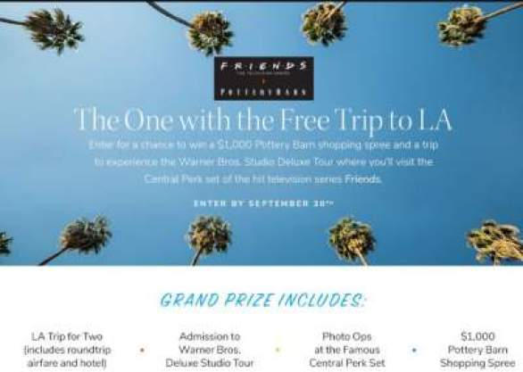 Pottery-Barn-Friends-Sweepstakes