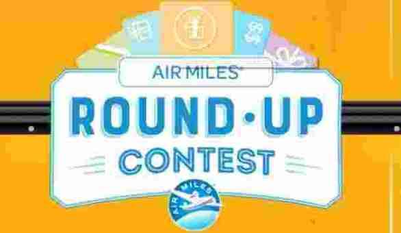 AirMiles-Round-Up-Contest