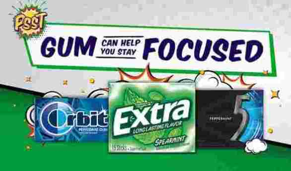 Focuswithgum-Sweepstakes
