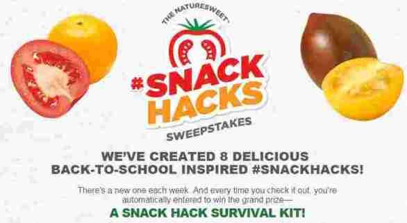 Naturesweet-Snackhack-Sweepstakes