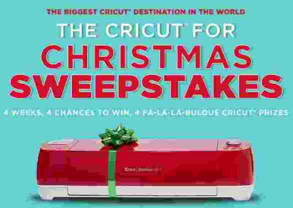 Michaels-Cricut-Sweepstakes