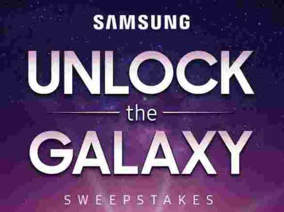 Samsung-Unlock-Galaxy-Sweepstakes