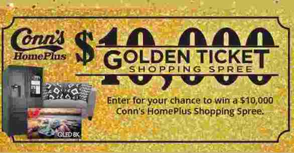 Conns-HomePlus-Golden-Ticket-Sweepstakes