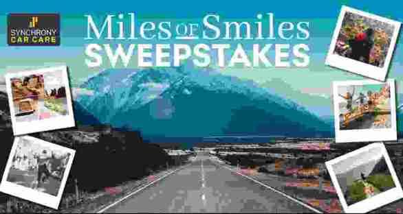 MySynchrony-Miles-Smiles-Sweepstakes