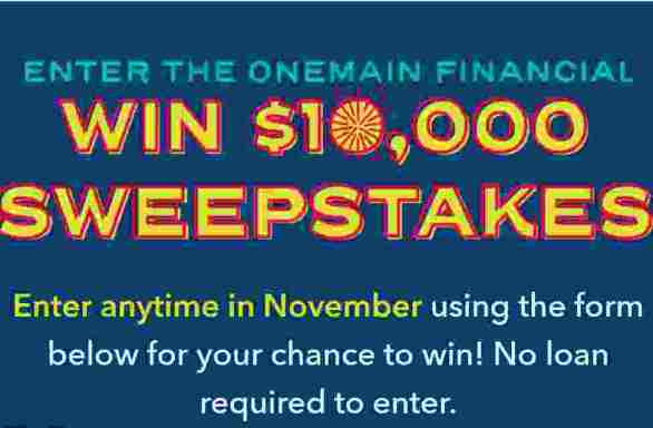 OnemainFinancial-Win-10K-Sweepstakes