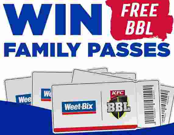 Weet-Bix-BBL-Family-Pass-Competition