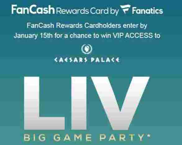 Fancashexperiences-Sweepstakes
