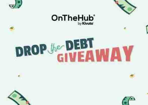 Onthehub-Drop-the-Debt-Giveaway