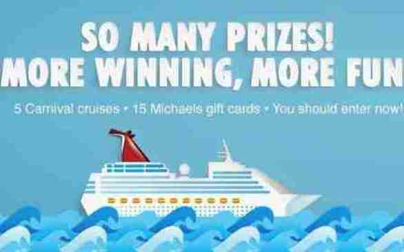 Carnival-Michaels-Sweepstakes