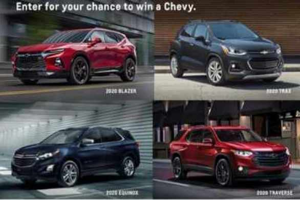 ExperienceChevroletToday-Win-A-Chevy-Sweepstakes