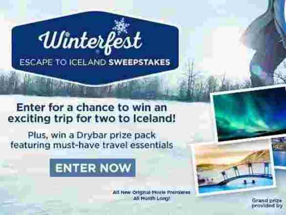 Hallmarkchannel-Winterfest-Escape-To-Iceland-Sweepstakes