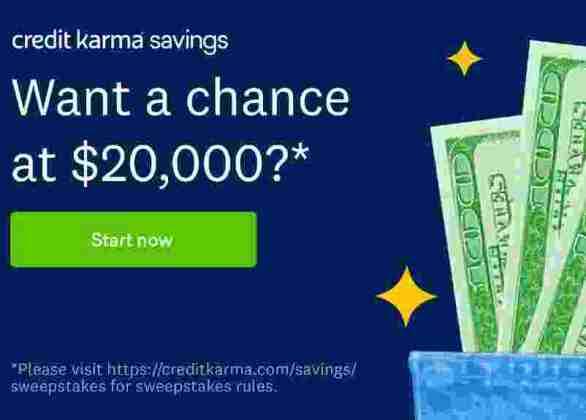 CreditKarma-Savings-Sweepstakes