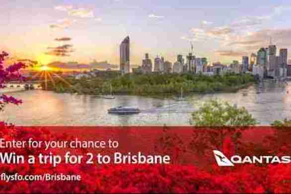 FlySFO-Brisbane-Sweepstakes