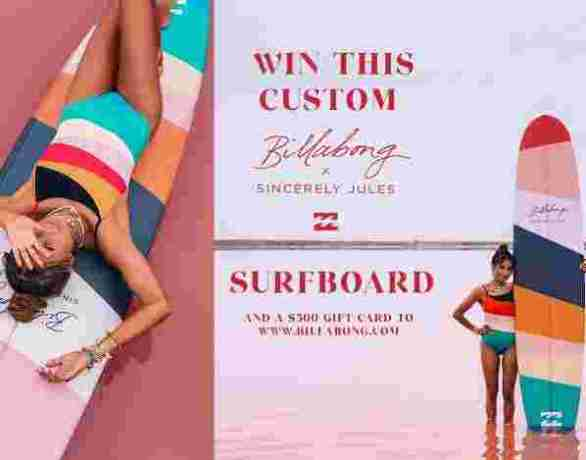 Billabong-Sincerely-Jules-Surfboard-Sweepstakes