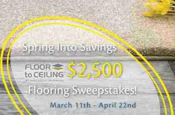 FloortoCeiling-Spring-Into-Savings-Sweepstakes