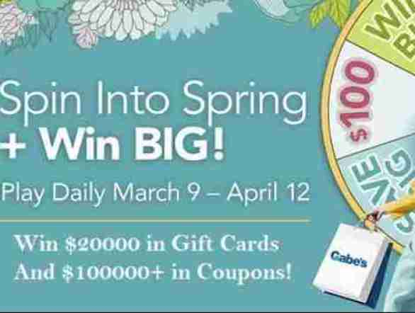 Gabes-Spin-Into-Spring-Sweepstakes