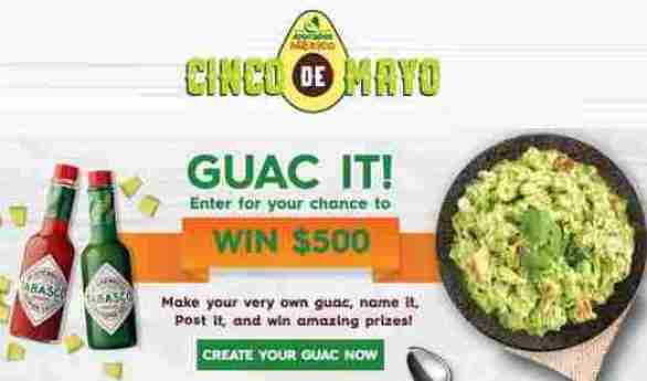 AvocadosFromMexico-Cinco-De-Mayo-Sweepstakes