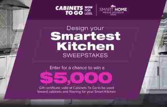 DiyNetwork-Smartest-Kitchen-Sweepstakes