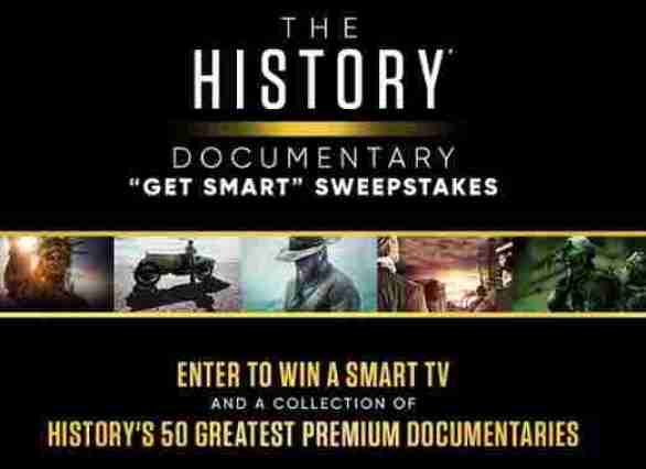 History-Documentary-Get-Smart-Sweepstakes