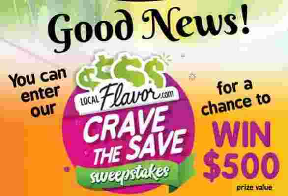 LocalFlavor-Crave-The-Save-Sweepstakes