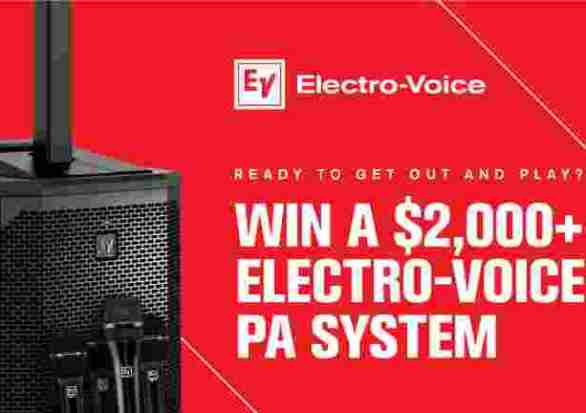 Zzounds-electro-voice-evolve-30m-giveaway