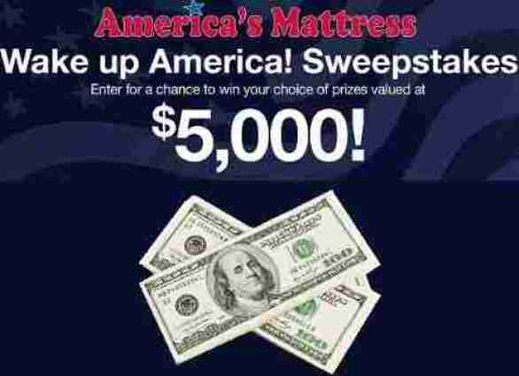 Americasmattress-wake-up-america-sweepstakes