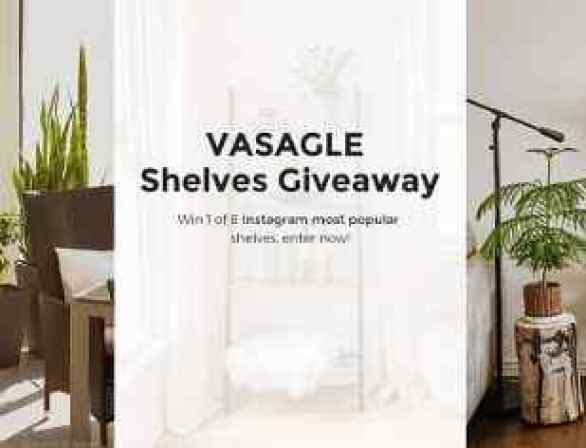 Songmics-Vasagle-Shelves-Giveaway