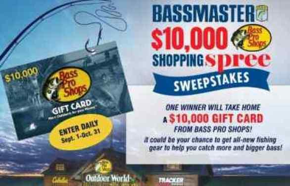 Bassmaster-Shopping-Spree-Sweepstakes