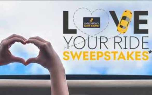 Synchronycarcare-love-your-ride-Sweepstakes