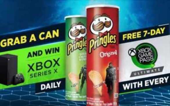 Pringles-Xbox-Competition