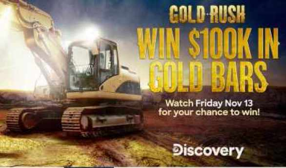 Discovery-Gold-Rush-Giveaway