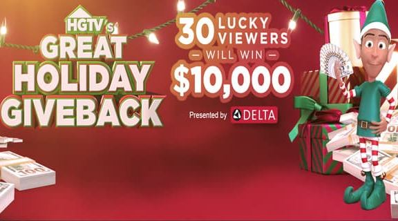 HGTV-Great-Holiday-Giveback-Sweepstakes