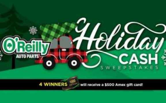 Oreilly-Auto-Parts-Holiday-Cash-Sweepstakes
