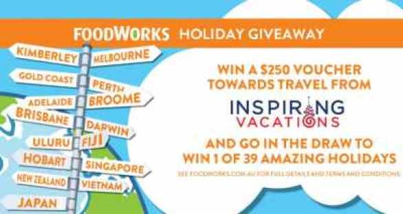Foodworks-Holiday-Competition