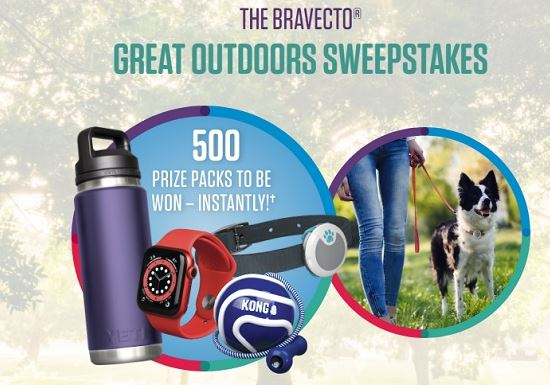 Bravecto-Great-Outdoors-Sweepstakes