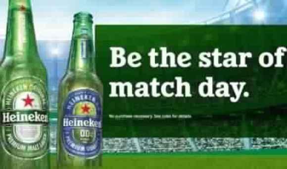 Heinekenmatchday-Sweepstakes