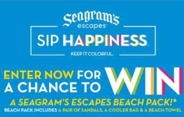 SeagramsEscapes-Beach-Swag-Sweepstakes
