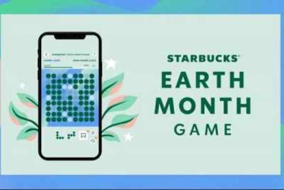 Starbucksearthmonthgame-Sweepstakes