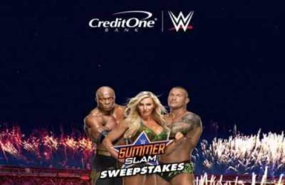 CreditOneBank-WWE-SummerSlam-Sweepstakes