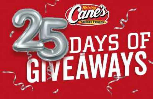 25yearsofcanes-Sweepstakes