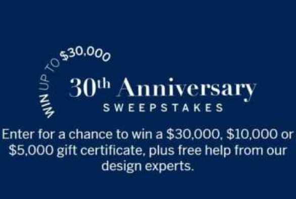 Frontgate-Anniversary-Sweepstakes