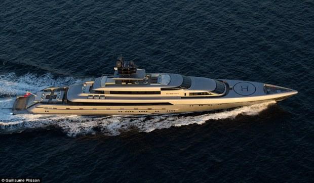 silver fast superyacht