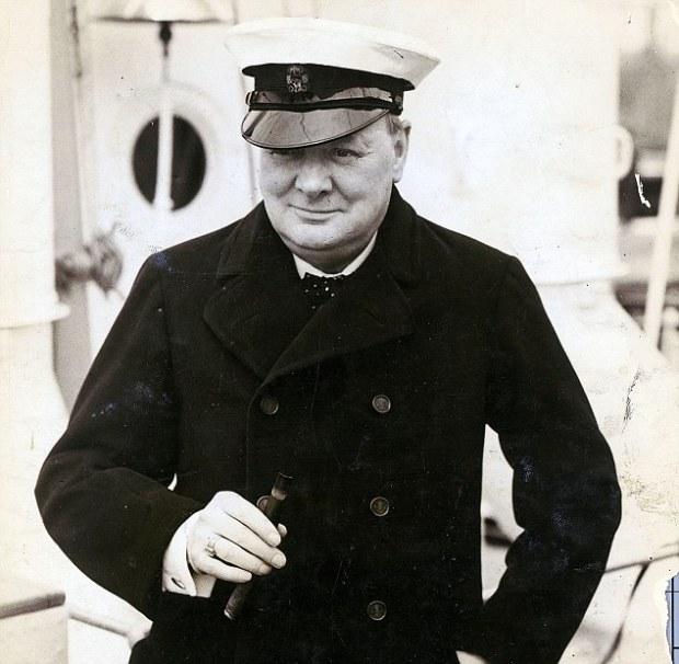 winston churchill captain