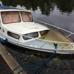 Kempala cruiser te Bodegraven liggend de oude Rijn  9,40 meter