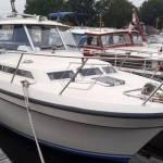 Transport boot 8.85 x 3.20 Haskerdijke naar Mook.